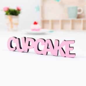 Dekoschriftzug Cupcake