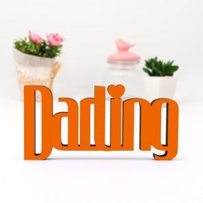 3D-Schriftzug Darling