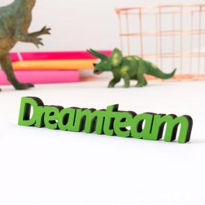 Dekoschriftzug Dreamteam