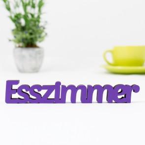 3D-Schriftzug Esszimmer
