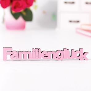 """Dekoschriftzug """"Familienglück"""""""