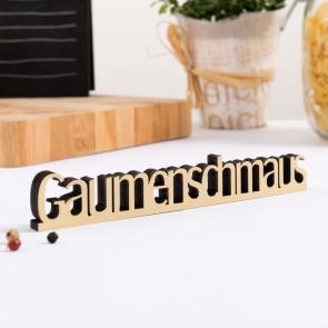 Dekoschriftzug Gaumenschmaus