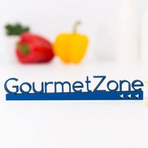 Dekoschriftzug Gourmetzone