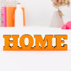3D-Schriftzug Home