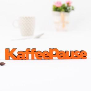 3D-Schriftzug Kaffeepause