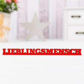 """Dekoschriftzug """"Lieblingsmensch"""""""