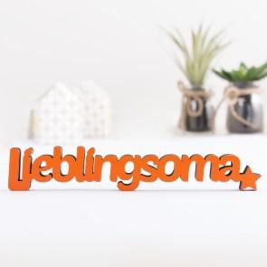 3D-Schriftzug Lieblingsoma