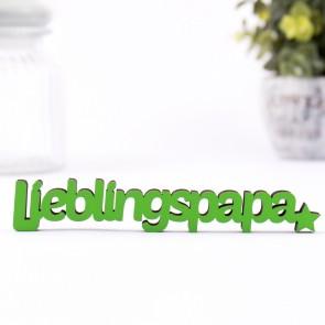 3D-Schriftzug Lieblingspapa