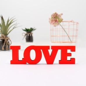 3D-Schriftzug Love