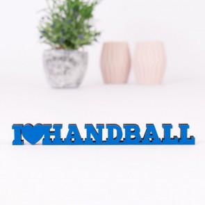 Dekoschriftzug I love Handball