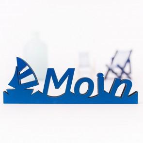 3D-Schriftzug Moin