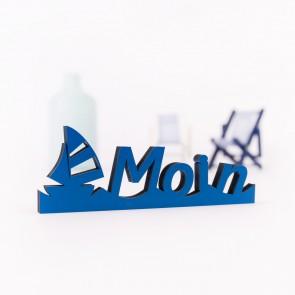 Dekoschriftzug Moin