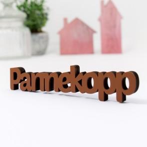 Dekoschriftzug Pannekopp