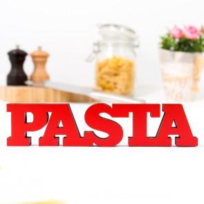 3D-Schriftzug Pasta
