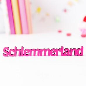"""Dekoschriftzug """"Schlemmerland"""""""