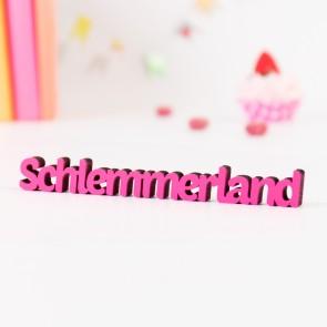 Dekoschriftzug Schlemmerland