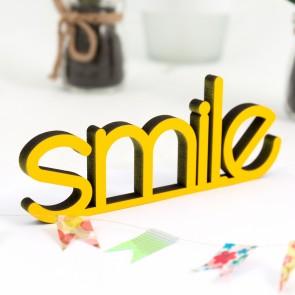 Dekoschriftzug Smile