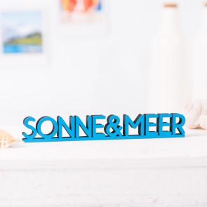 Dekoschriftzug Sonne&Meer