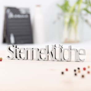 Dekoschriftzug Sterneküche