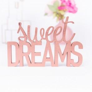 3D-Schriftzug Sweet Dreams
