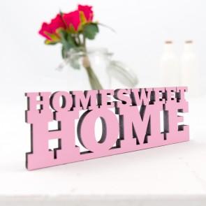 Dekoschriftzug Home Sweet Home