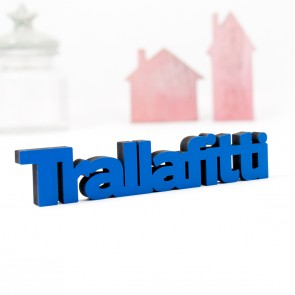 Dekoschriftzug Trallafitti