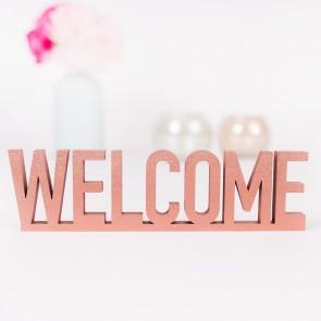 Welcome 3D-Schriftzug