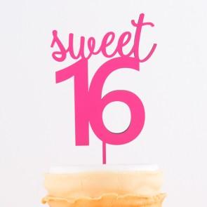 Cake Topper sweet 16
