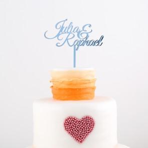 Cake Topper mit Euren Namen