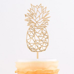 Cake Topper Origami Ananas