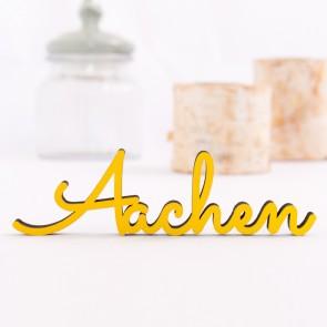 Dekoschriftzug Aachen