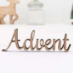 Dekoschriftzug Advent