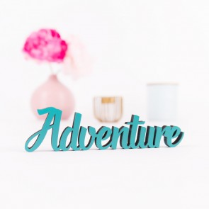 Dekoschriftzug Adventure