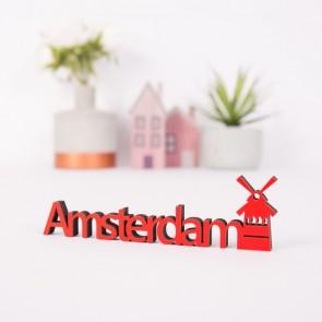 Dekoschriftzug Amsterdam