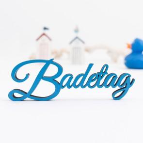 Dekoschriftzug Badetag