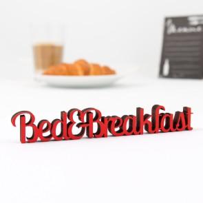 Dekoschriftzug Bed & Breakfast