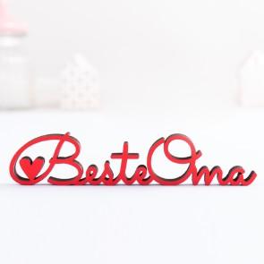 Dekoschriftzug Beste Oma