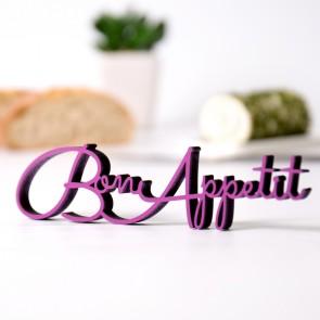 Dekoschriftzug Bon Appetit