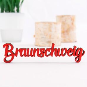 Dekoschriftzug Braunschweig