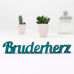 Dekoschriftzug Bruderherz