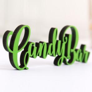 Dekoschriftzug Candybar