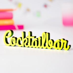 Dekoschriftzug Cocktailbar