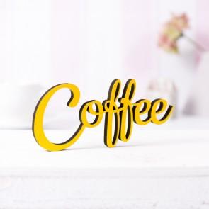 Dekoschriftzug Coffee