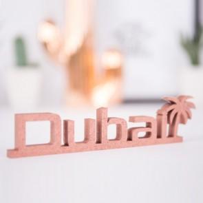 Dekoschriftzug Dubai