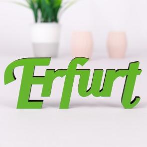 Dekoschriftzug Erfurt