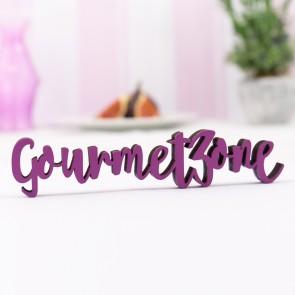 "Dekoschriftzug ""Gourmetzone"""