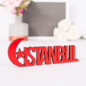 Dekoschriftzug Istanbul