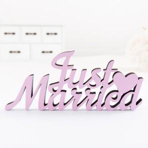 Dekoschriftzug Just Married