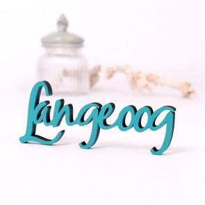 Dekoschriftzug Langeoog