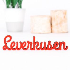Dekoschriftzug Leverkusen